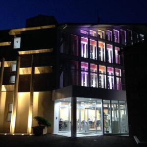 小菅村役場庁舎